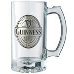 Guinness Tankard with Pewter Label
